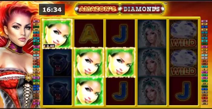 how to win at Amazon's Diamonds Slot