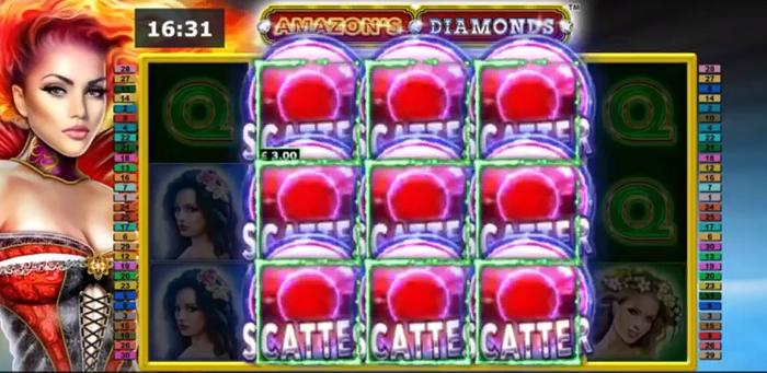 Amazon's Diamonds Slot