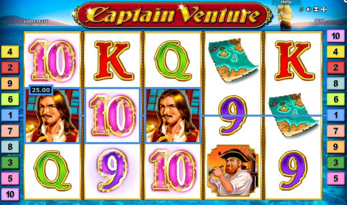 How to win Captain Venture Slot