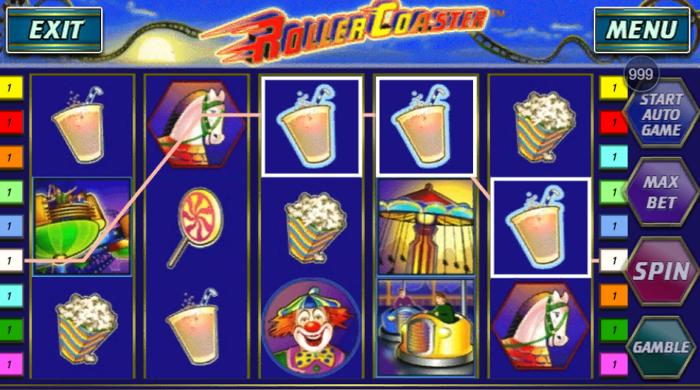 how to win at Roller Coaster slot