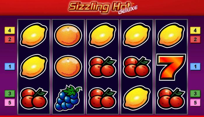Classic Sizzling Hot Deluxe Slot