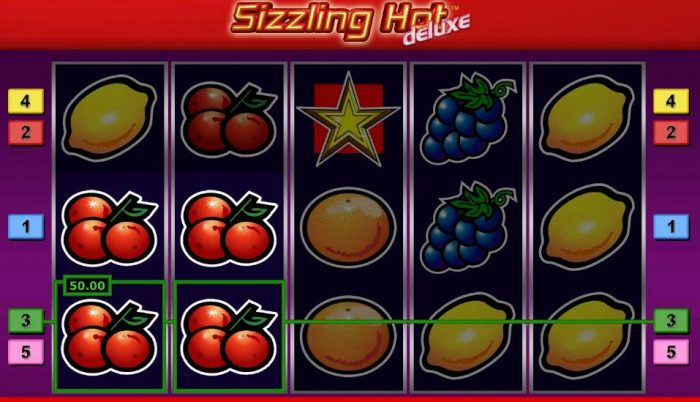 How to win at Sizzling Hot Deluxe Slot